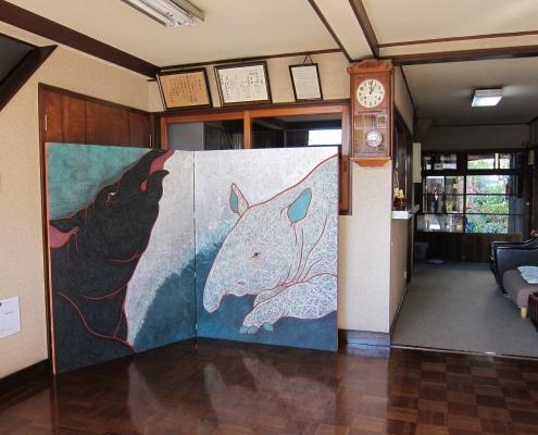 アートプログラム青梅2012 4大学学生展「地への一雫」